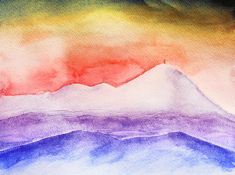 Water Color Painting - Pisgah And The Rat by Gray  Artus