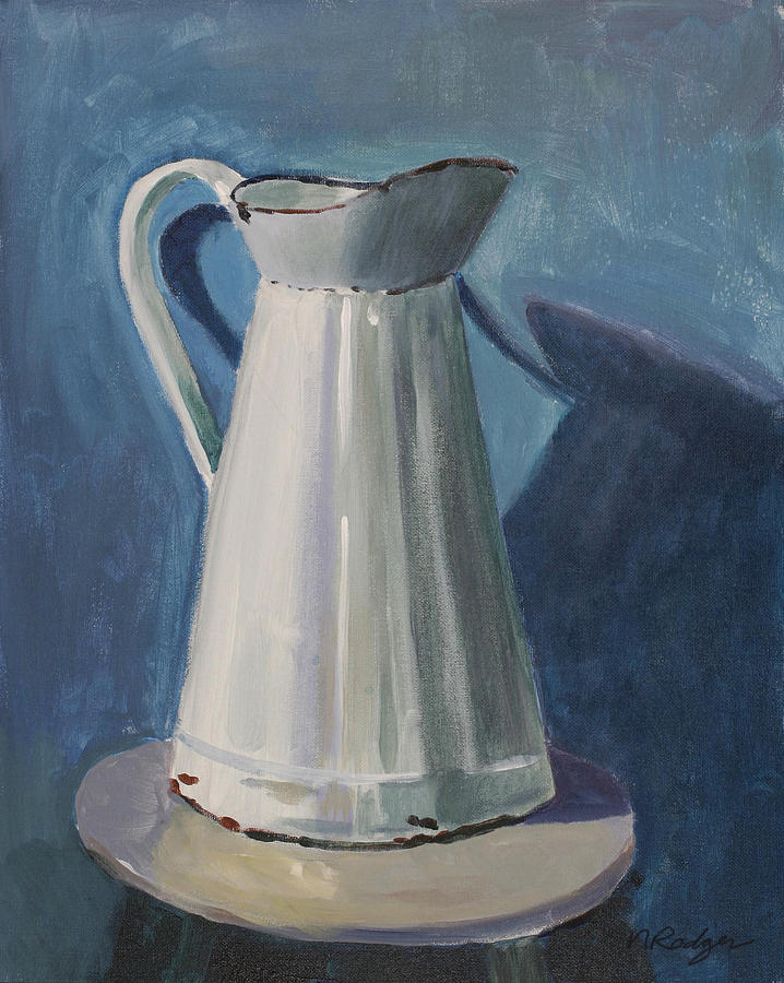 Pitcher Painting - Pitcher by Nancy Rodger