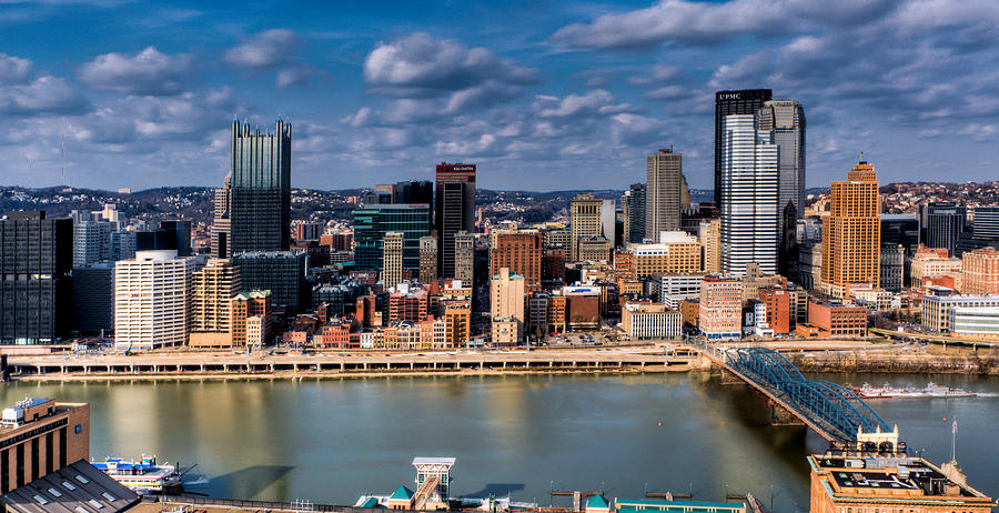 Grandview Ave. Photograph - Pittsburgh by David Hahn