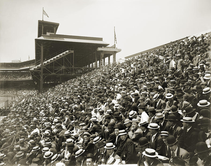 1910 Photograph - Pittsburgh: Forbes Field by Granger