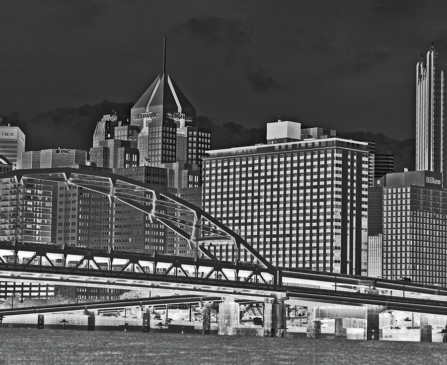 Pittsburgh From The North Shore Photograph