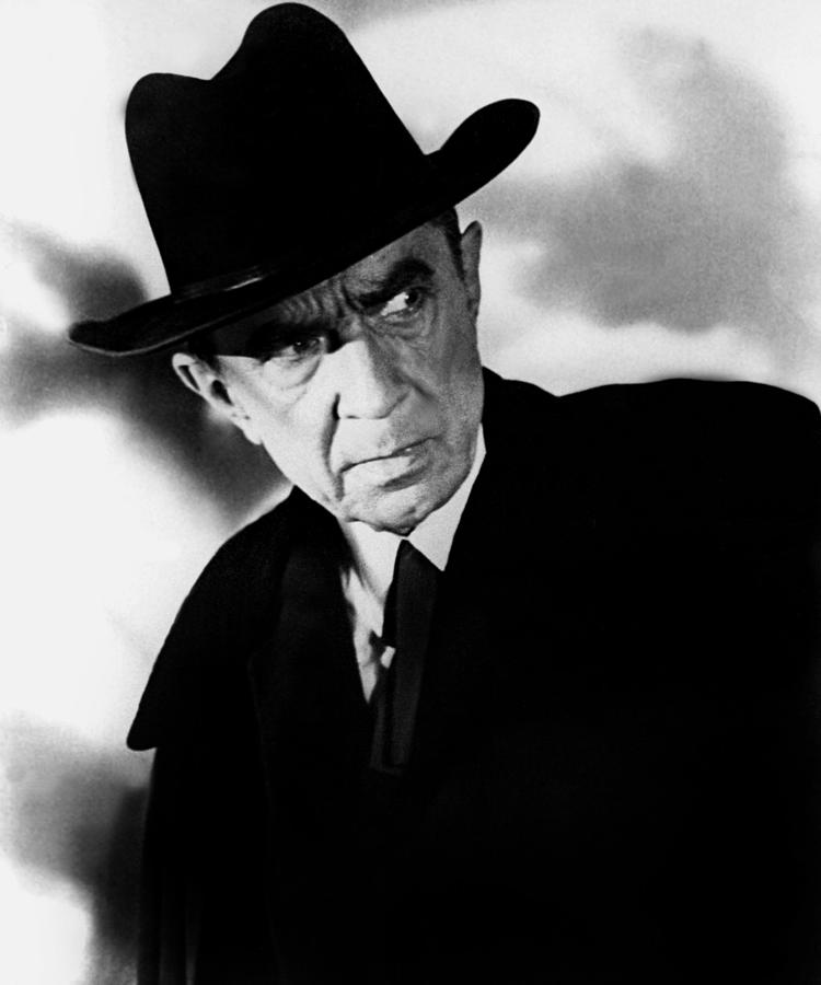 1959 Movies Photograph - Plan 9 From Outer Space, Bela Lugosi by Everett