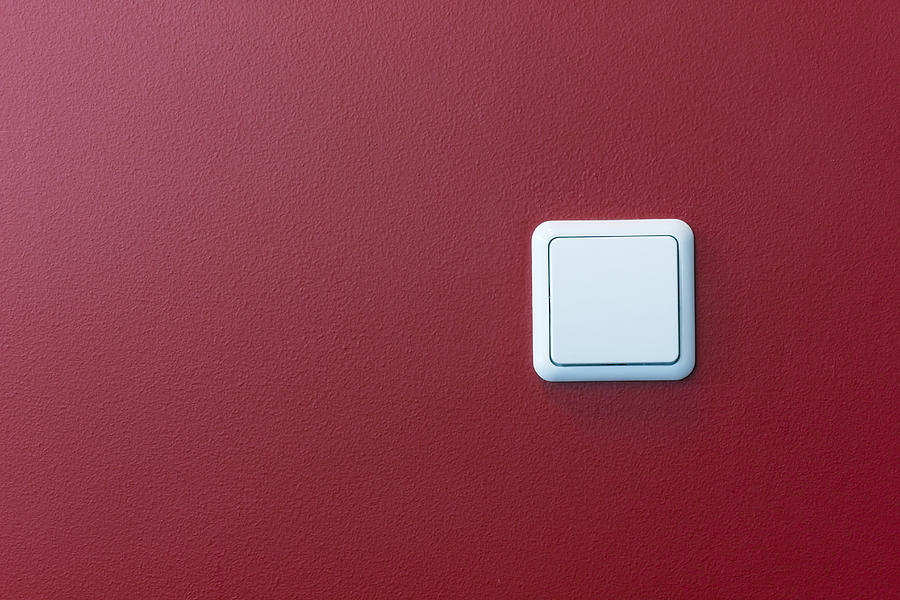 Plastic light switch in the red wall photograph by aleksandr volkov light photograph plastic light switch in the red wall by aleksandr volkov aloadofball