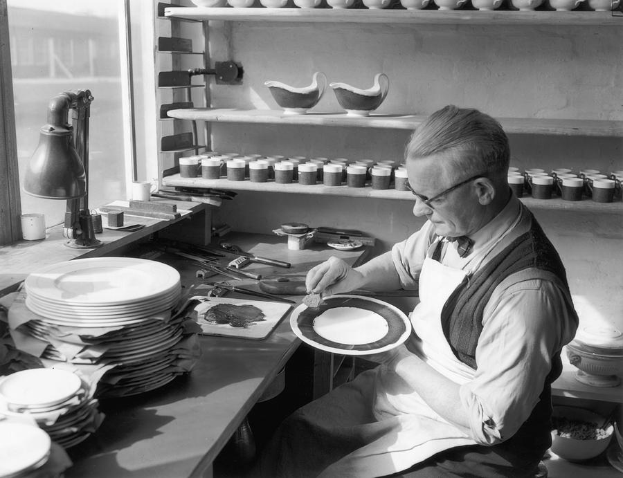 Adults Only Photograph - Plate Painter by L Blandford