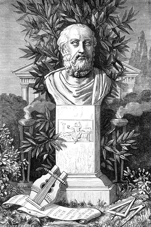 Plato Photograph - Plato, Ancient Greek Philosopher by