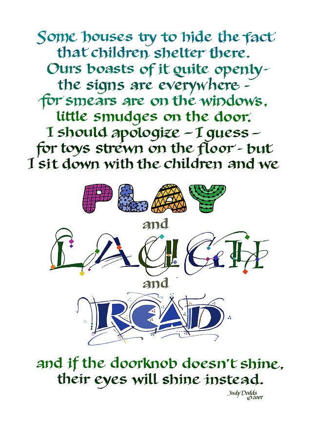 Mother's Day Painting - Play Laugh Read by Judy Dodds