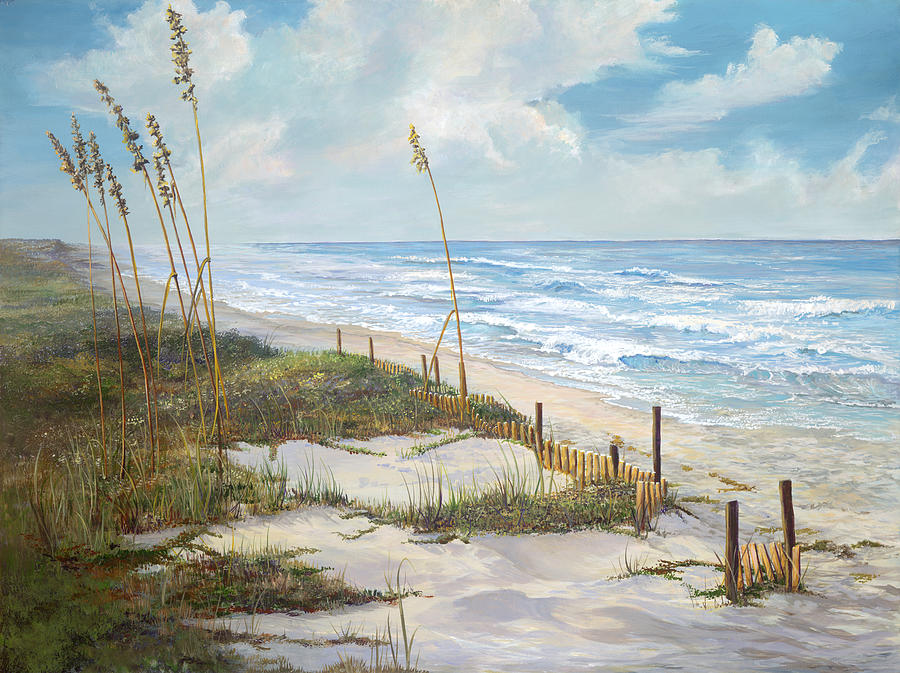 Florida Painting - Playalinda by AnnaJo Vahle