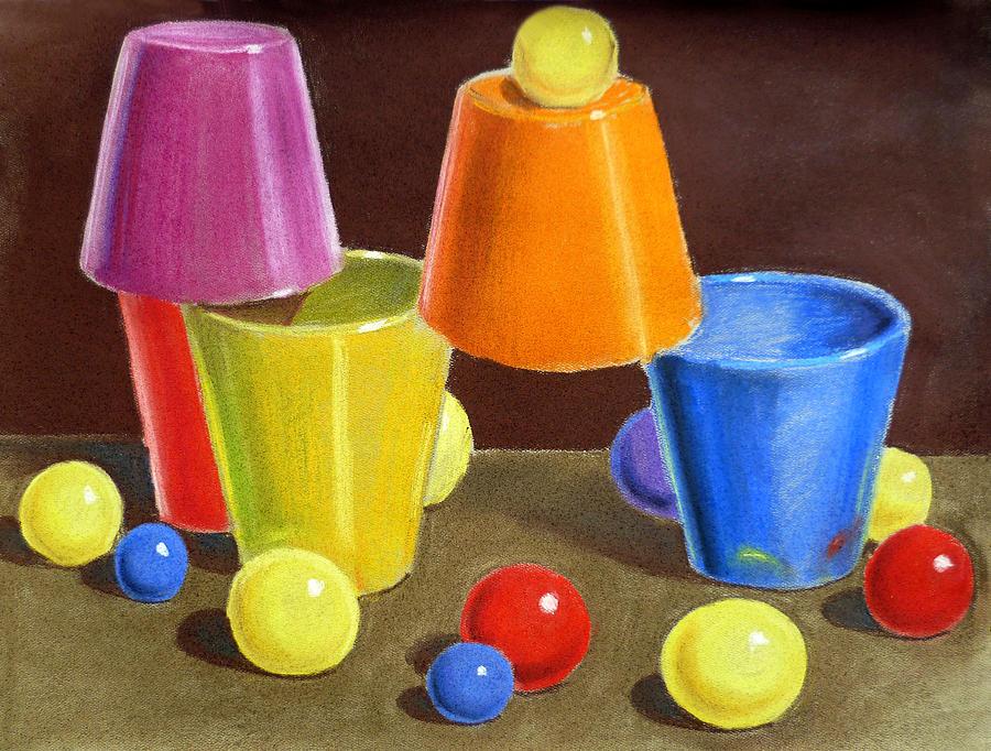 Ball Painting - Playground  by Irina Sztukowski