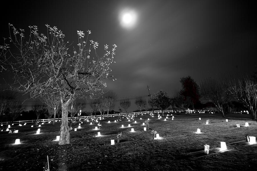 Sebastopol Photograph - Pleasant Hill Luminaries by Joseph Wilson