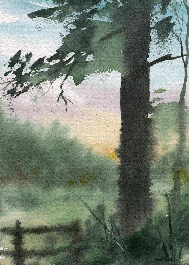 Landscape Painting - Plein Air 10 by Sean Seal