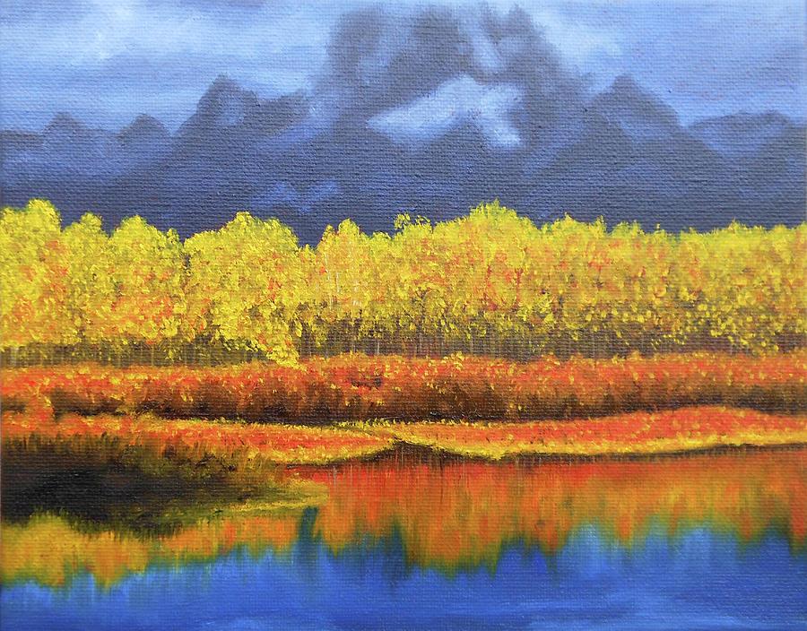 Plein Air Painting Painting - Plein Air 103 by Thu Nguyen