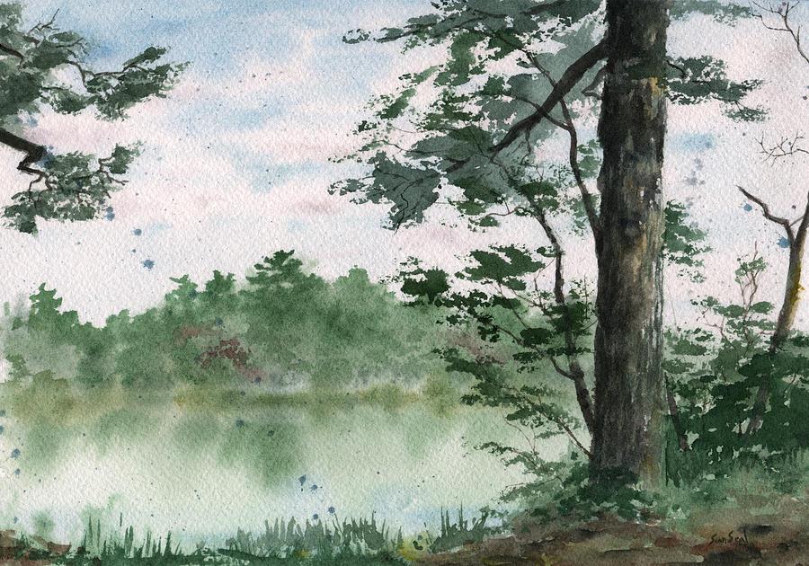 Plein Air Painting - Plein Air 11 by Sean Seal