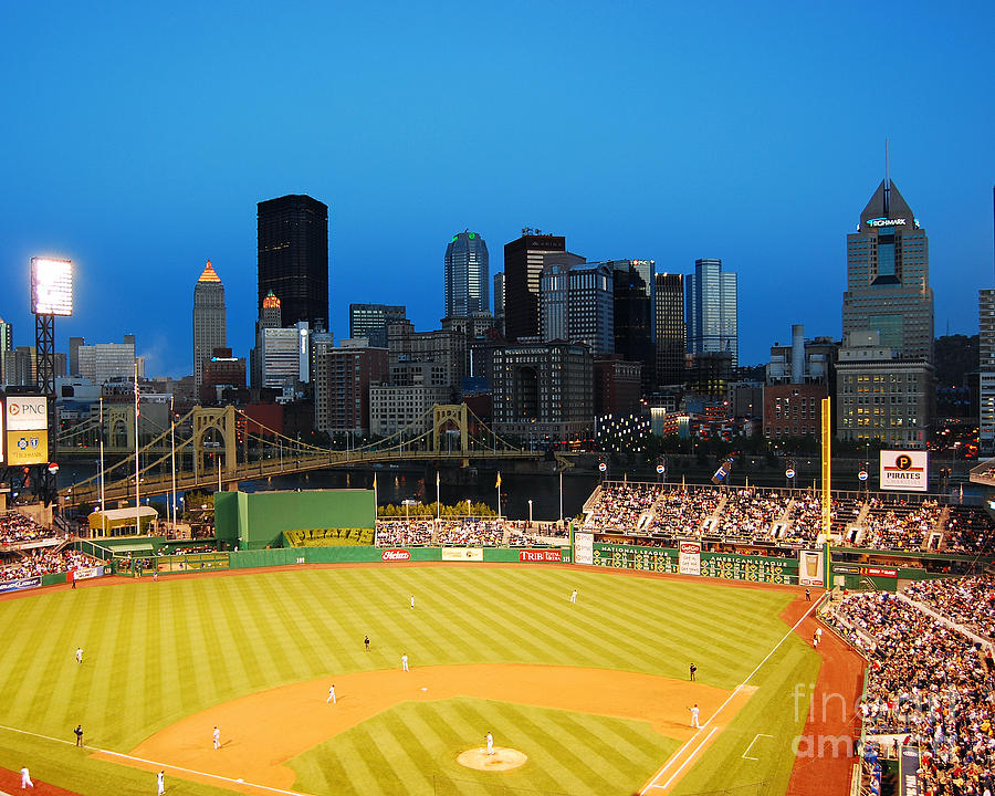 Pittsburgh Photograph - Pnc Park by Steve Whalen