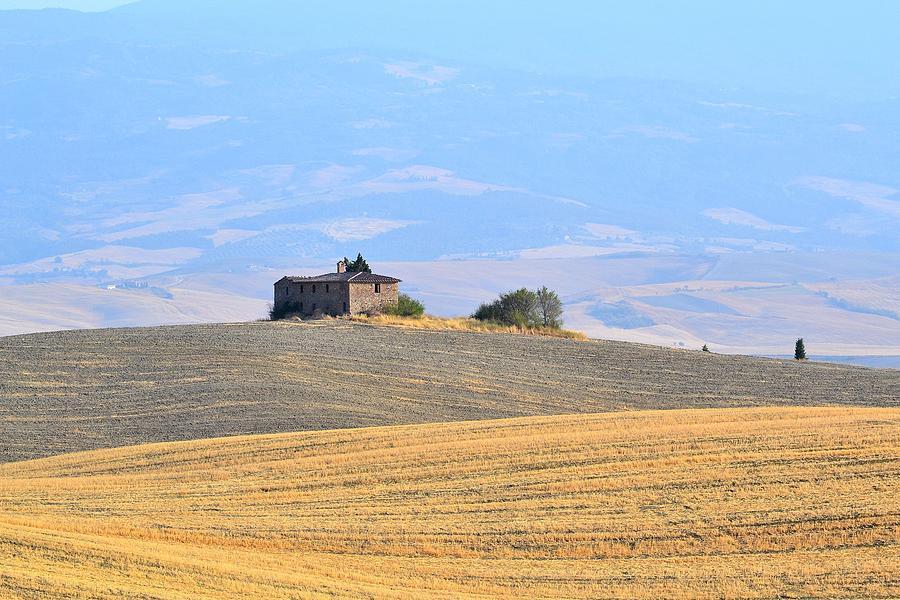 Italy Photograph - Podere In Valdorcia by Luca Bernardini