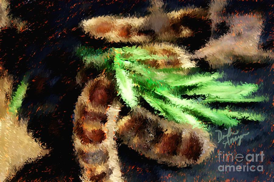 Impressionist Photograph - Pods And Seeds by Dinah Anaya