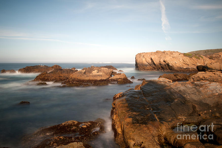 Water Photograph - Point Lobos Number Three by Catherine Lau