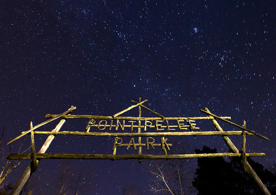 Point Pelee Photograph - Point Pelee Under The Stars by Cale Best