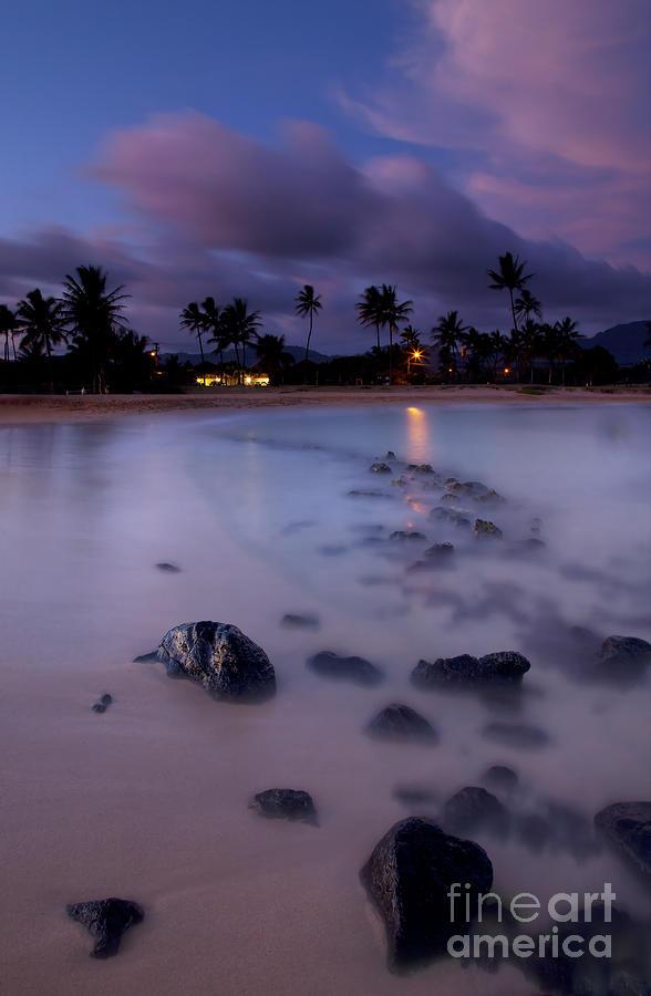 Poipu Photograph - Poipu Evening Storm by Mike  Dawson