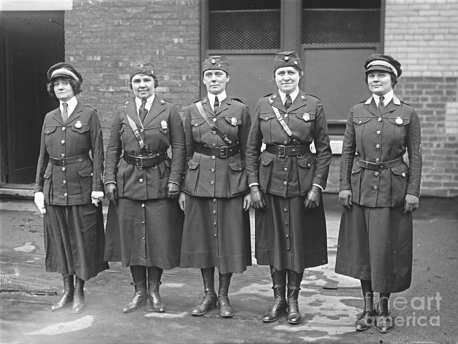 Policewoman Photograph - Policewomen by Padre Art