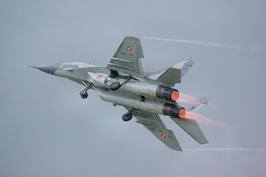 Polish Air Force Mig-29 Photograph by Tim Beach