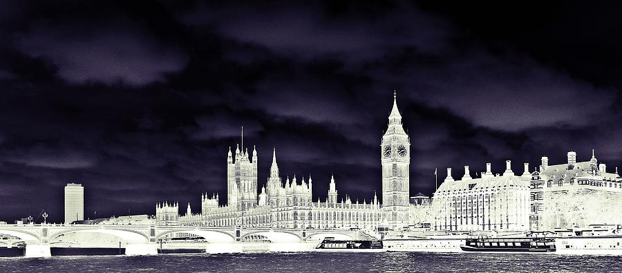 London Photograph - Political Storm by Sharon Lisa Clarke