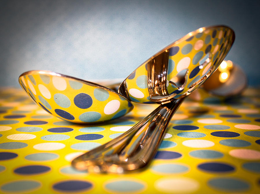 Spoons Photograph - Polka-Dot-Art by David Forester