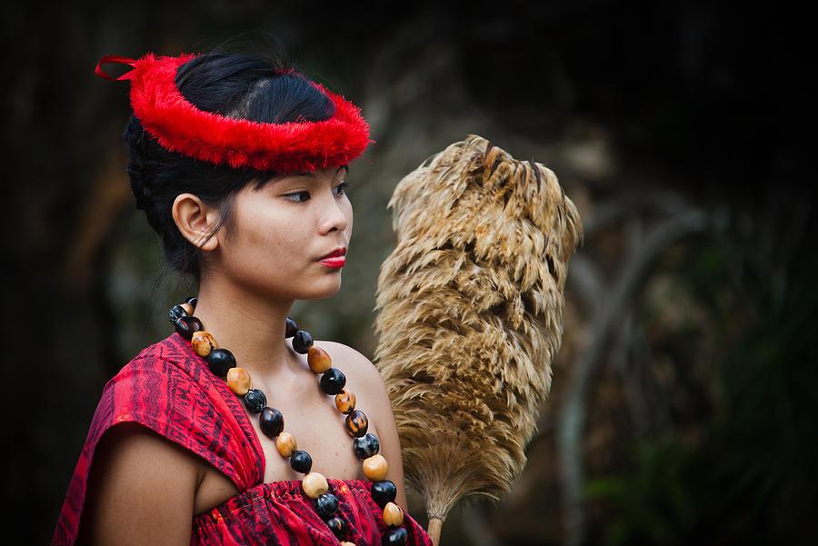 Hawaii Photograph - Polynesian Beauty by Ralf Kaiser