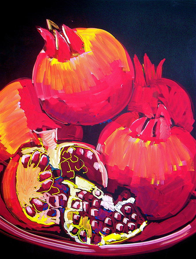 Pomegranates by Doris  Lane Grey