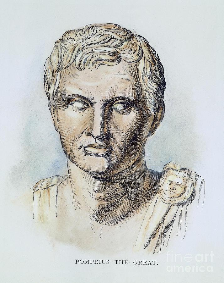 1st Century B.c. Photograph - Pompey (106-48 B.c.) by Granger