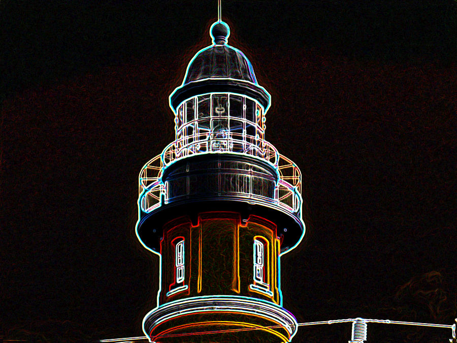Lighthouse Photograph - Ponce Inlet Lighthouse by Dennis Dugan