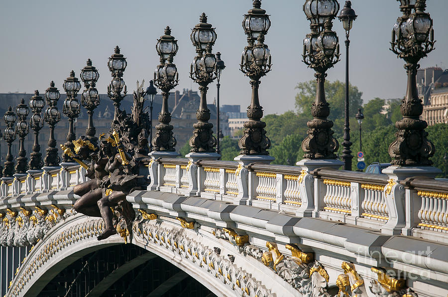 Europe Photograph - Pont Alexander IIi by Clarence Holmes