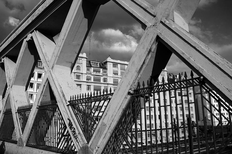 Paris Photograph - Pont Lafayette Paris by Andrew Fare