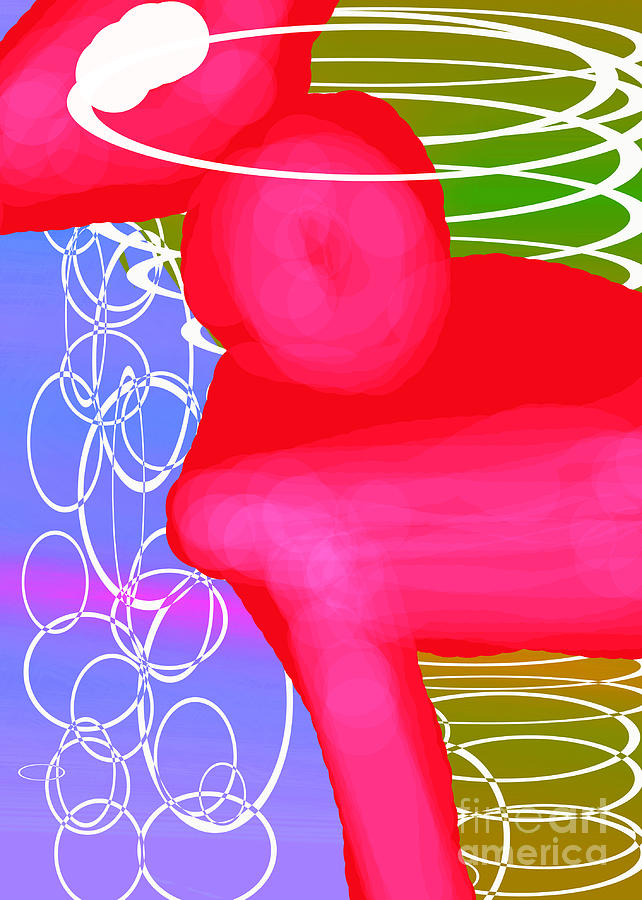 Rose Digital Art - Ponyrose by Toteto Toteto