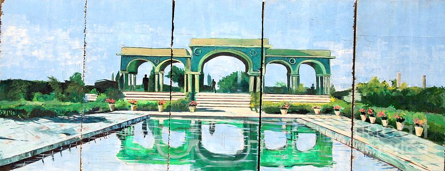 Basrah Photograph - Poolside in Basrah by Unknown - Local Iraqi National