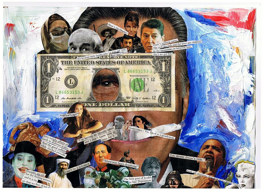 Obama Digital Art - Poor Little Lambs. by Frank Zabohonski