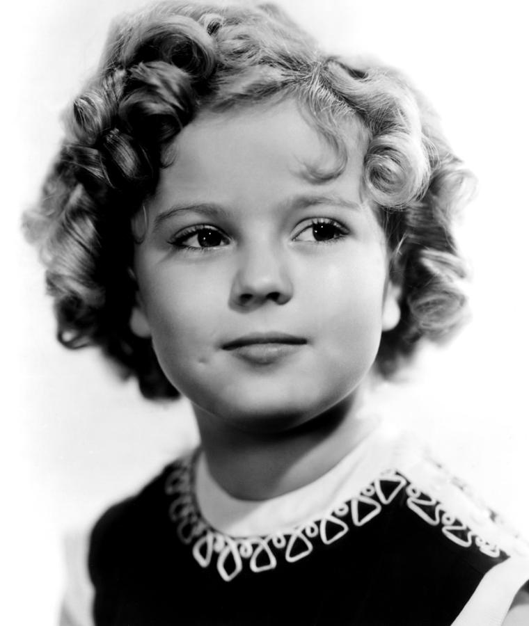 1930s Movies Photograph - Poor Little Rich Girl, Shirley Temple by Everett
