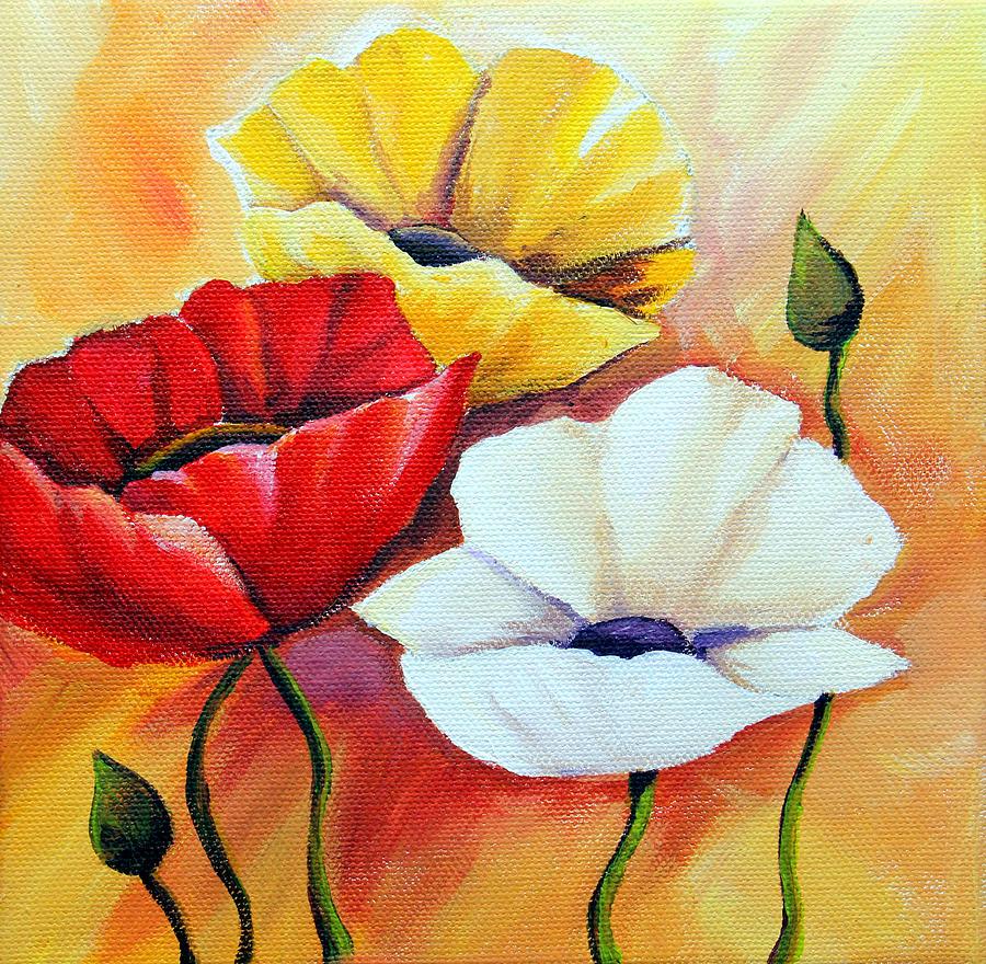 Poppy Flowers Drawing By Agata Jenko