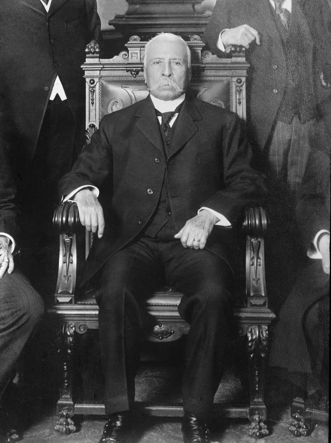 Porfirio daz 1830 1915 president photograph by everett for Silla presidencial