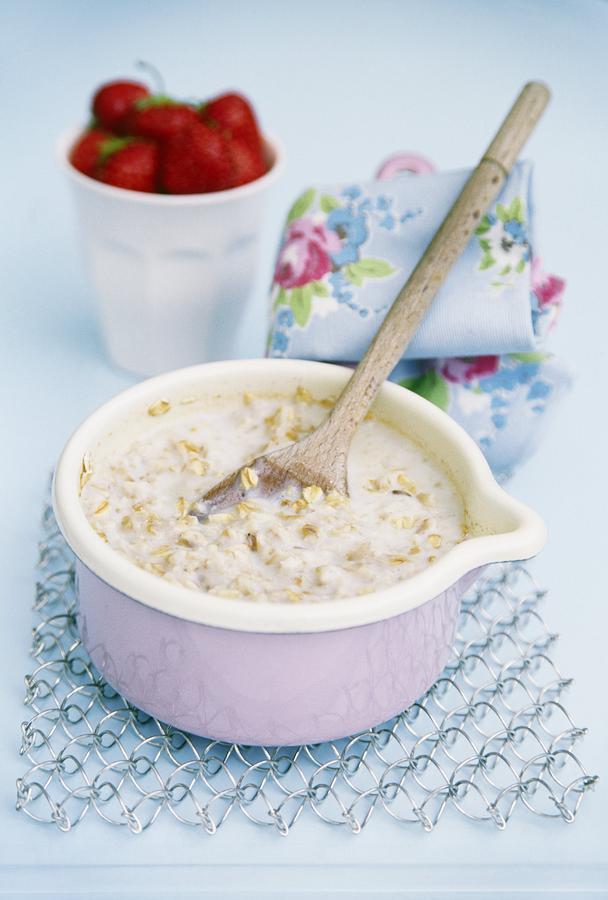 Equipment Photograph - Porridge In A Pan by Veronique Leplat