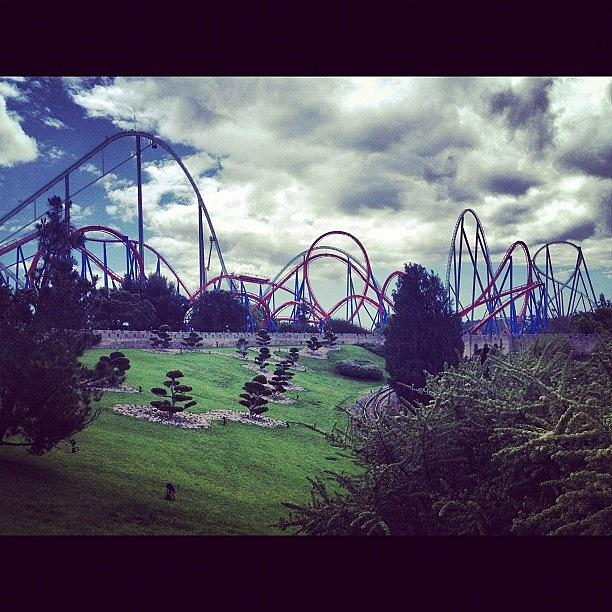Port Aventura Photograph by Matheo Montes