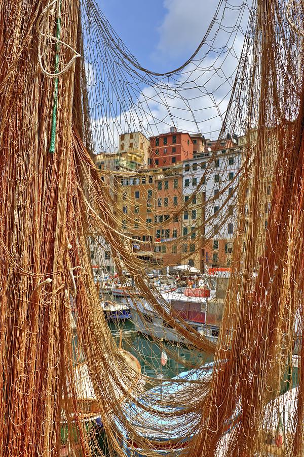 Camogli Photograph - Port Of Camogli by Joana Kruse