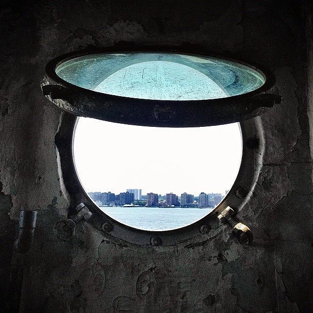 Porthole Photograph - Porthole View by Natasha Marco