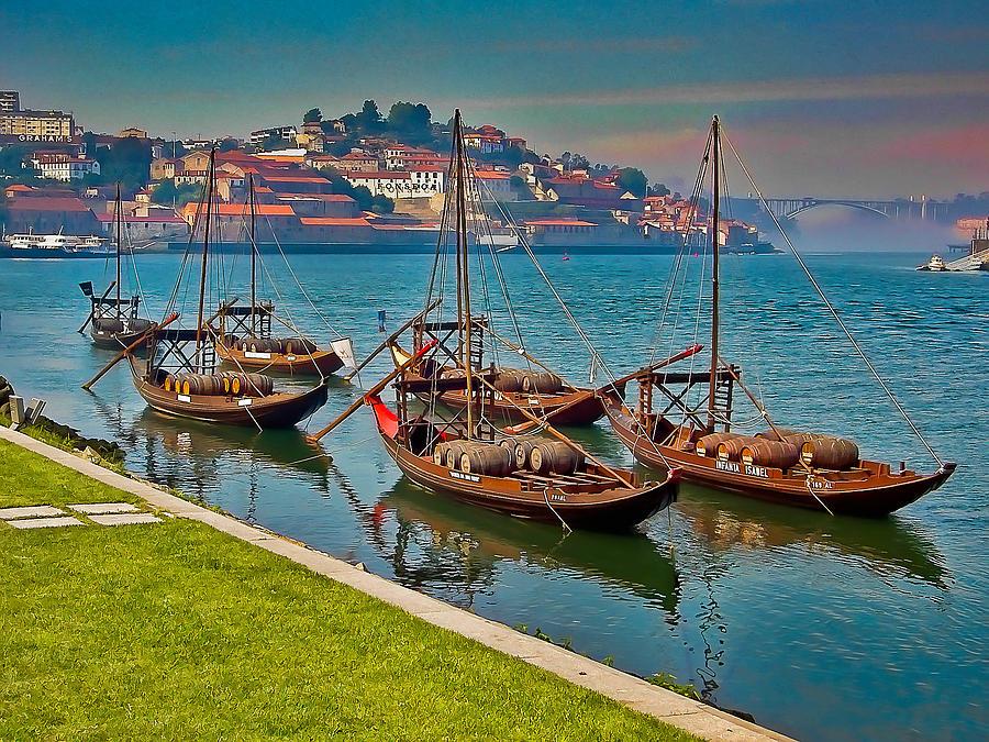 Porto Photograph - Porto Barges by Scott Massey