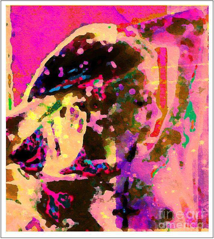 Woman Digital Art - Portrait 2011 by Peter Szabo