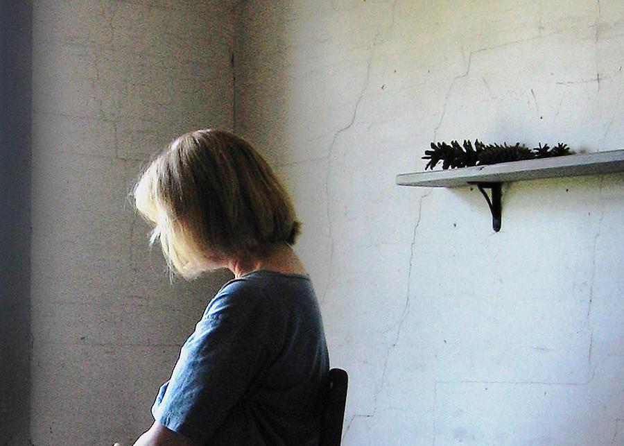 Interior Photograph - Portrait In Studio by J R Baldini M Photog Cr