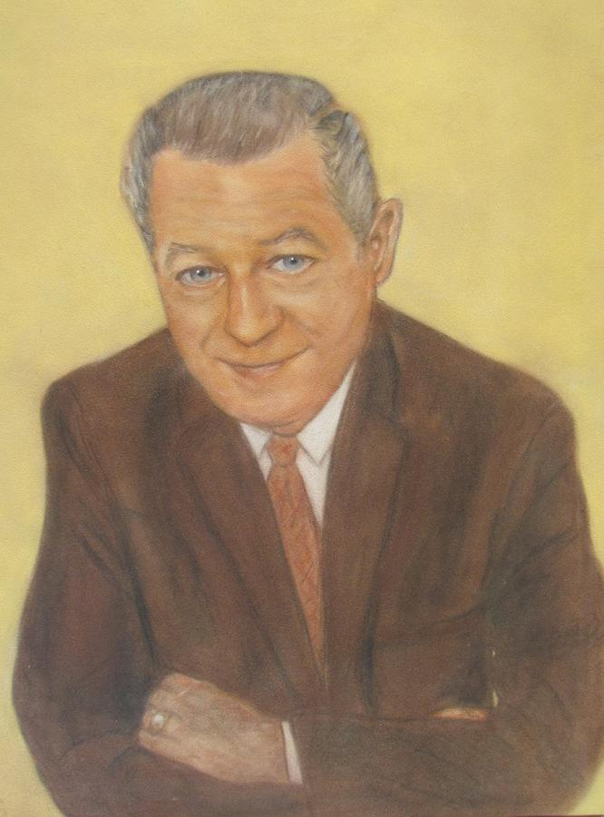 Portrait Of A Ceo Painting by Edie Schmoll