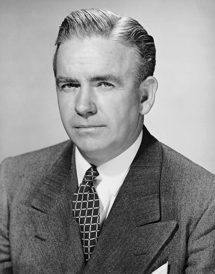 Adult Photograph - Portrait Of Businessman by George Marks