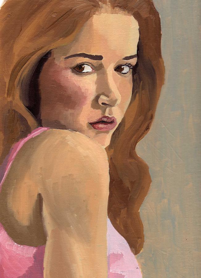 Portrait of Laia by Stephen Panoushek