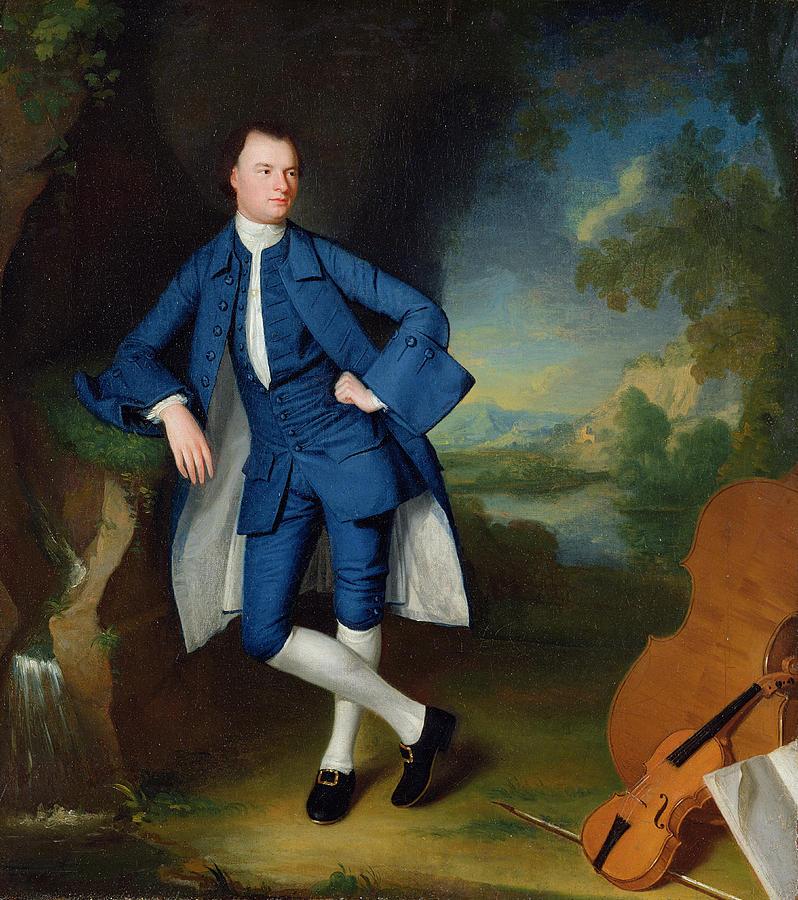 Portrait Painting - Portrait Of Man by George Romney