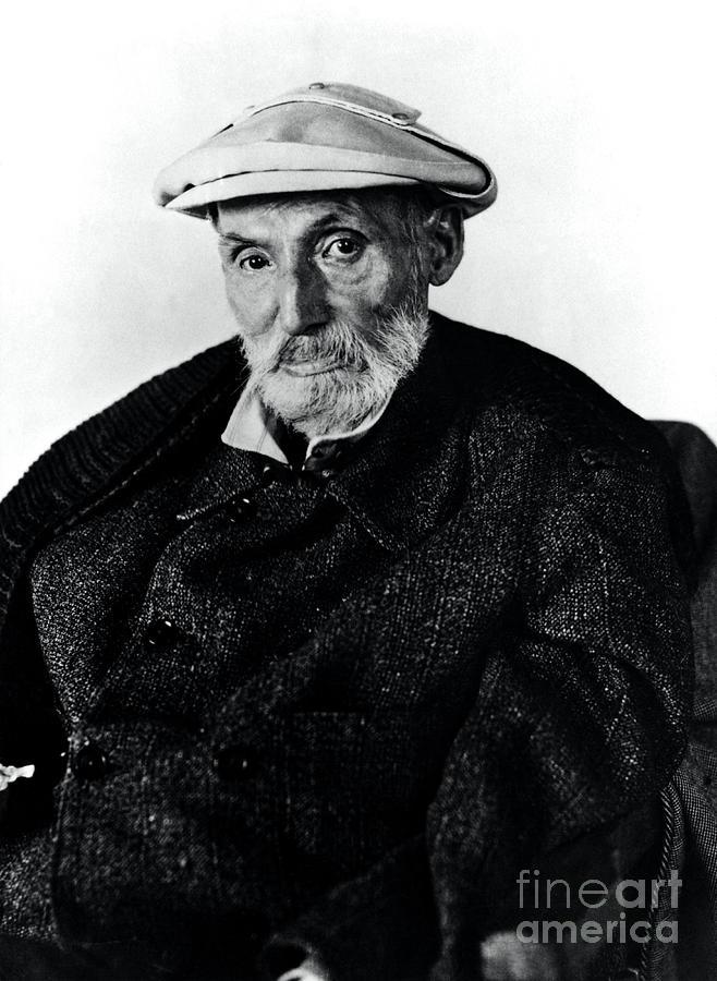Portrait Photograph - Portrait Of Renoir by Photo Researchers